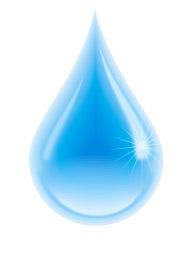 капелька воды картинка для детей