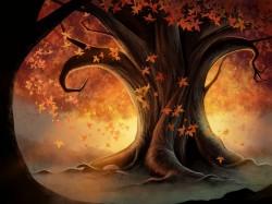 сказочно-осеннее дерево