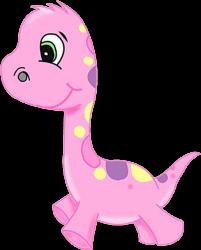 розовый дракончик