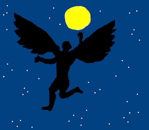 картинки с ангелами или демонами вампирами