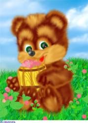 медвежонок-сладкоежка
