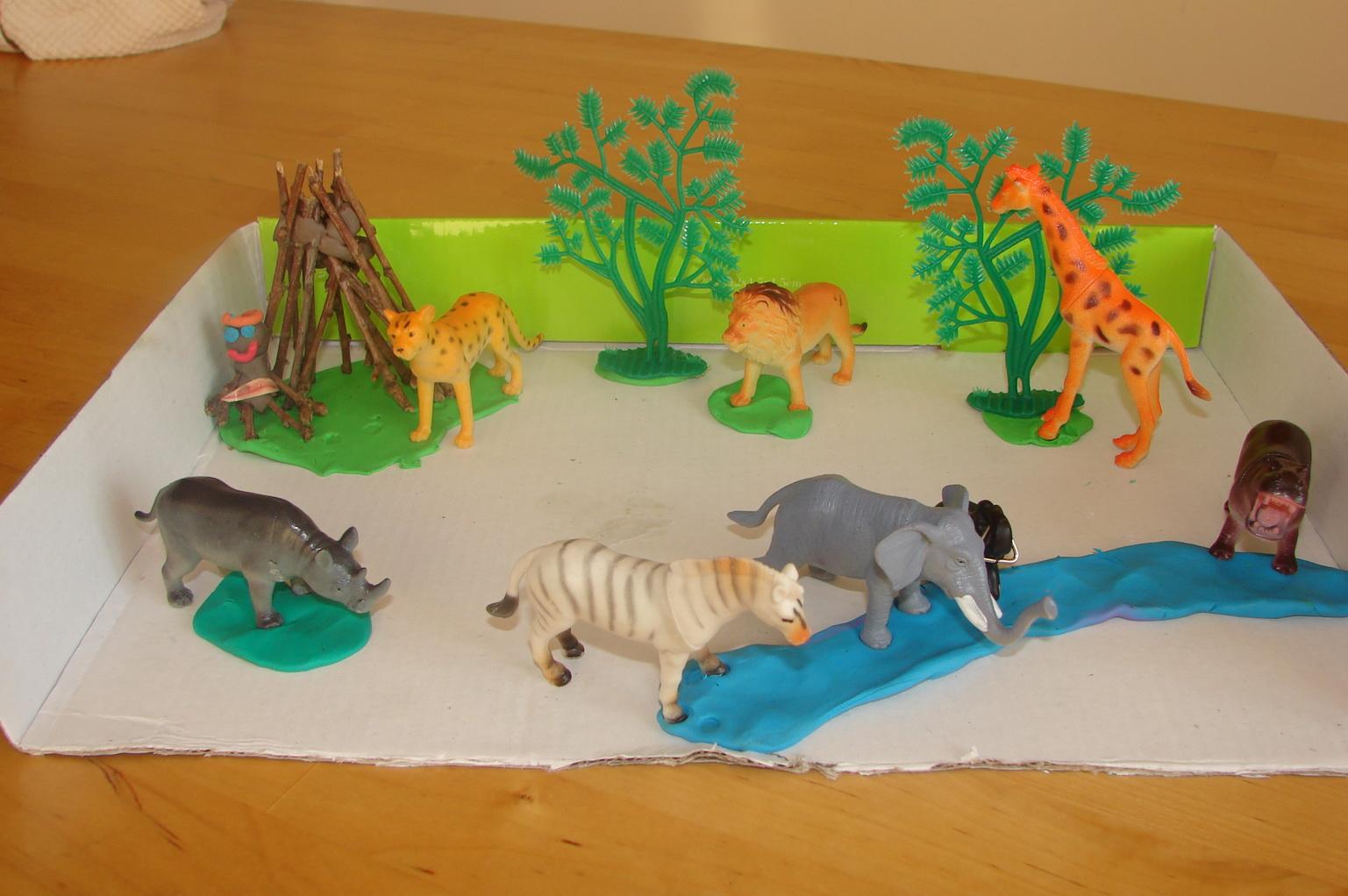 Поделки на тему животных картинки