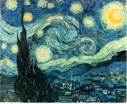 """Ван Гог """"Лунная ночь"""""""