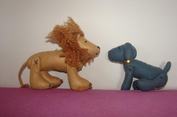лев и тотошка